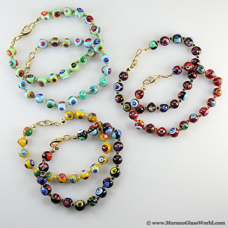 Murano Mosaic Bracelet