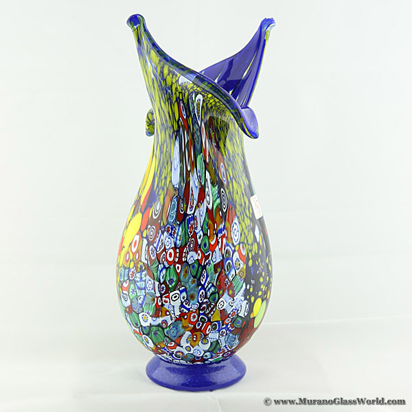 wholesale murano glass vases wholesale murano glass and. Black Bedroom Furniture Sets. Home Design Ideas