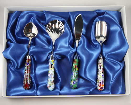 Serving Set Scaglie - 4 pieces