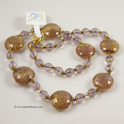 Necklace Ca D'Oro -Amethyst