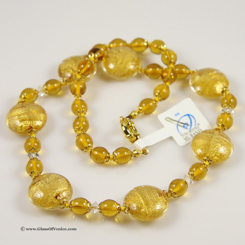 Necklace Ca D'Oro -Yellow Gold