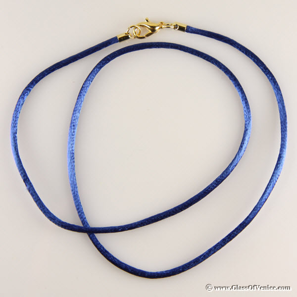 Silk Cord - royal blue