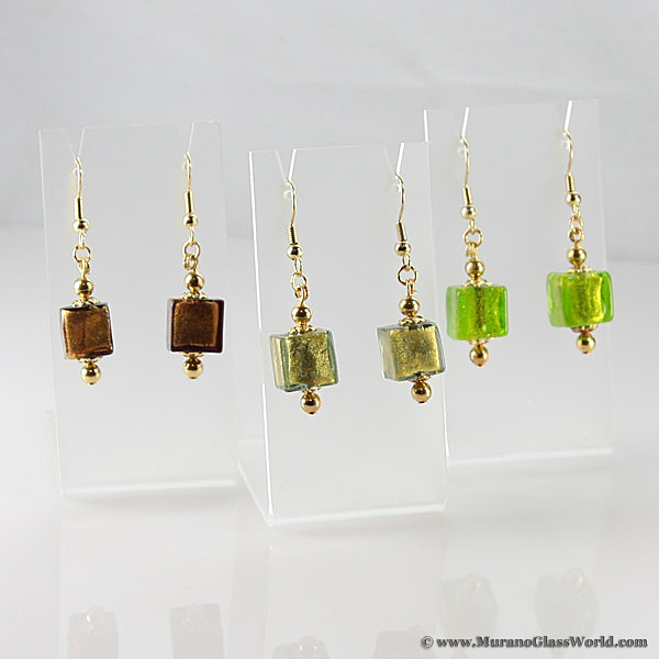 Antico Tesoro cubes earrings